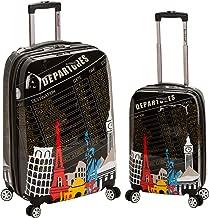 Rockland Luggage 2 Piece Upright Luggage Set, Departure, Medium