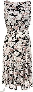 Best sandra darren sleeveless floral scuba printed dress Reviews