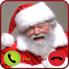 * Call from Santa prank for friends! * The best fake call voice and video ! * Be creative with Santa prank calling!