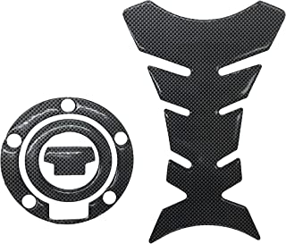 Carbon Look Firber Motor Gas Cap Tank Pad Sticker For YAMAHA YZF R1 YZF R6 FZ8