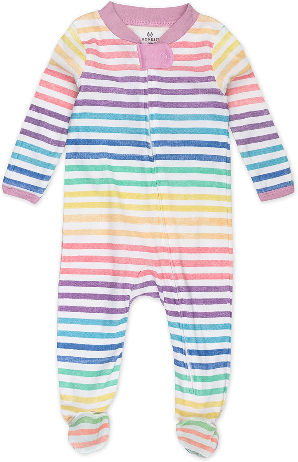HonestBaby Baby 1-Piece Footed Sleep N Play 6-9 Months