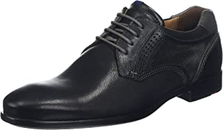 Hombre Zapatos Planos Schwarz/Grey Schwarz/Grey 1822231