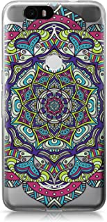 CASEiLIKE Funda Nexus 6P, Carcasa Huawei Google Nexus 6P, Arte de la mandala 2094, TPU Gel silicone protectora cover