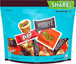 HERSHEY'S Chocolate Candy Assortment, Miniature Size Share Pack, 9.08 Oz