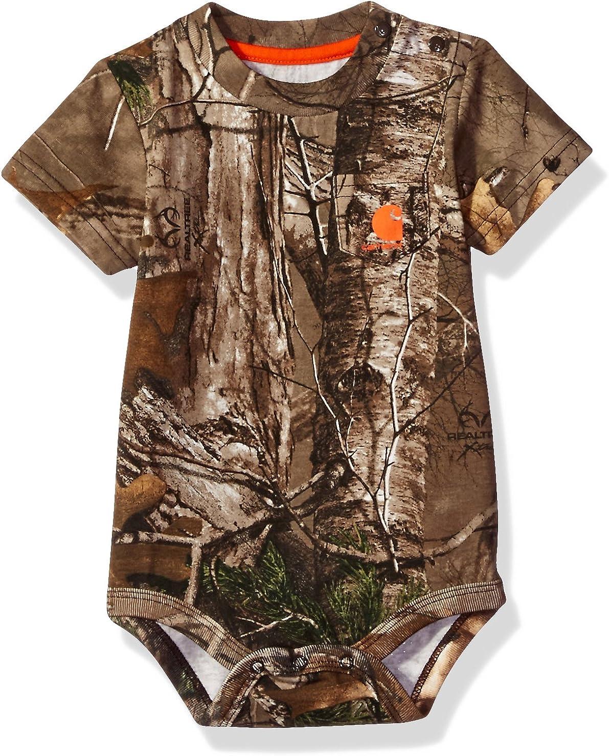 Carhartt Baby Boys' Short Sleeve Bodyshirt