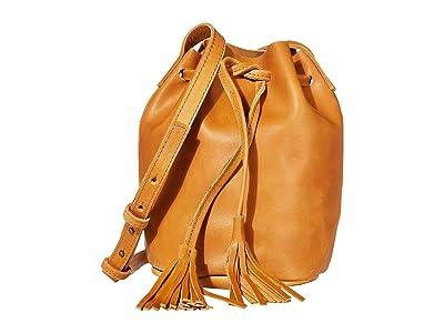 ABLE Maria Bucket Bag (Cognac) Shoulder Handbags