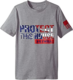Under Armour Kids - Freedom PTH Tee (Big Kids)