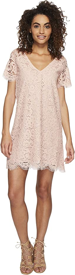 BB Dakota - Trista Lace Shift Dress