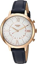 Fossil Women's Jacqueline Stainless Steel Hybrid Smartwatch with Activity Tracking..