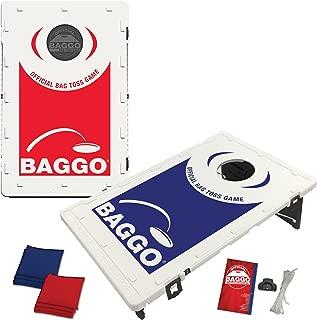 BAGGO Family Backyard Bean Bag Toss Portable Cornhole Game