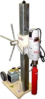EDCO 97100E Concrete Core Drill Rig 48-Inch, 20 Amp - No Vacuum Pump