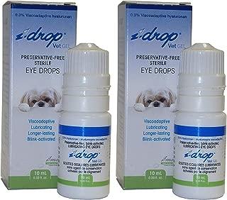 i-drop Vet GEL Preservative-Free Sterile Eye Drops 10ml Multi-dose (Pack of 2)