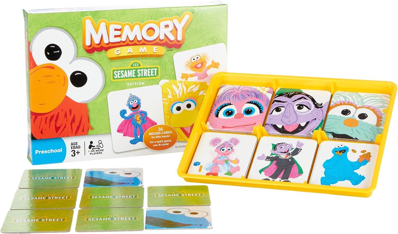 Hasbro Memory Game  Sesame Street