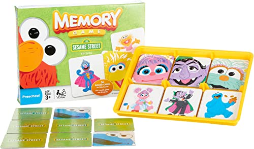 Memory Game  Sesame rue by Hasbro