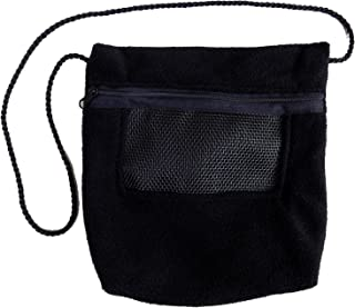 Bonding Carry Pouch for Sugar Gliders and other small pets (Black)