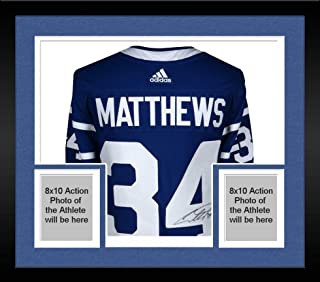 Framed Auston Matthews Toronto Maple Leafs Autographed Toronto Arenas Adidas Authentic Jersey - Fanatics Authentic Certified