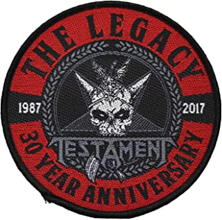 Testament The Legacy 1987-2017 sew on patch