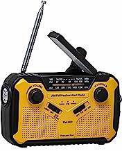 رادیو اضطراری Kaito Voyager ECO رادیوی اضطراری KA369 AM / FM NOAA رادیو با 5 چراغ خورشیدی با چراغ قوه LED و شارژر تلفن همراه USB