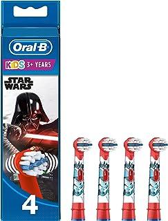 Oral-B Kids Opzetborstels Met Star Wars-figuren, 4 Stuks
