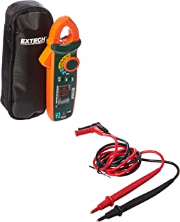 Extech MA63 True RMS 60A AC/DC Clamp Meter with NCV