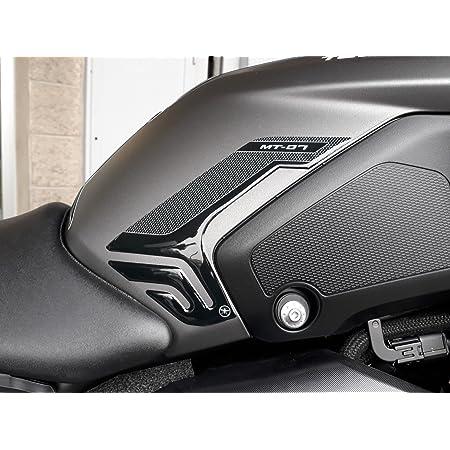Psler 3d Carbon Gas Cap Cover Gas Tank Cover Pad For Mt 07 Mt 09 Auto