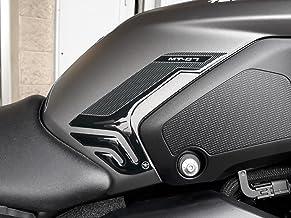 2 Pegatinas 3D Tanque DE PROTECCIÓN Lateral Compatible con Moto Yamaha MT-07 2018-2020