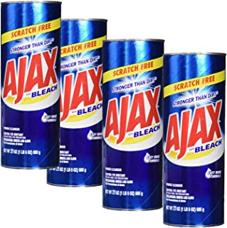 Ajax All-Purpose Powder Cleaner with Bleach 21 oz Pack of 4