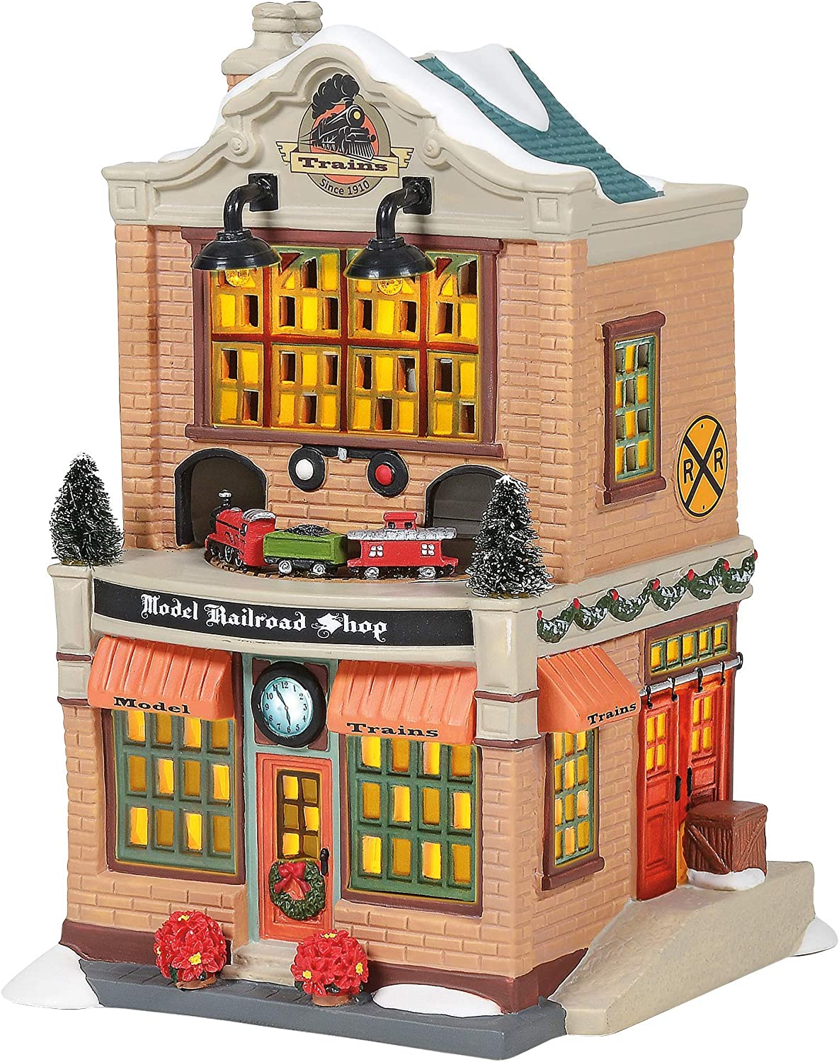 Price reduction Department 56 Christmas in Max 53% OFF The Shop Village Model Railroad City