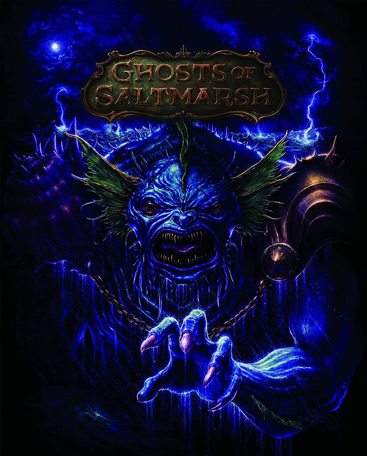 CE Ghosts of Saltmarsh Alternative Cover  Dungeons and Dragons DDN