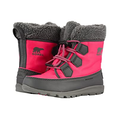 SOREL Kids Whitneytm Carnival (Little Kid/Big Kid) (Ultra Pink/Dark Grey) Girls Shoes