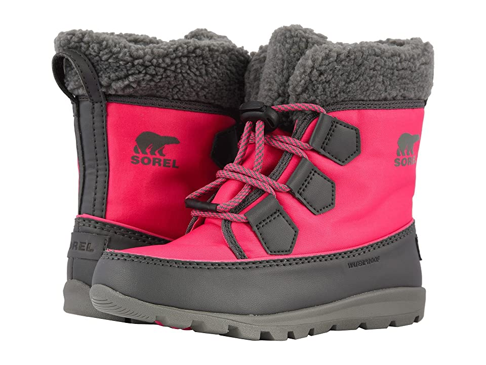 SOREL Kids Whitneytm Carnival (Little Kid/Big Kid) (Ultra Pink/Dark Grey) Girls Shoes