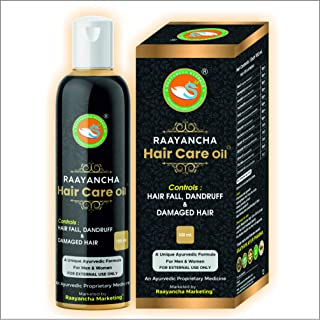 Raayancha Hair Care Oil | Hair fall and Dandruff Control (100ml) | free from paraben and preservative