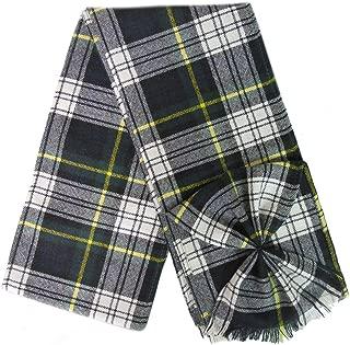 BBI Scottish 100% Wool Tartan Ladies Mini Sash with Rosette - Dress Gordon