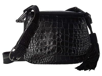 Vince Camuto Tal Flap (Nero) Handbags