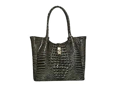 Brahmin Medium Mallory Tote (Serpentine) Tote Handbags