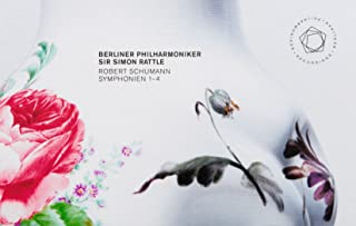 シューマン : 交響曲全集 (Robert Schumann : Symphonien 1-4 / Berliner Philharmoniker | Sir Simon Rattle) (2CD+1Blu-ray Video & Audio)...