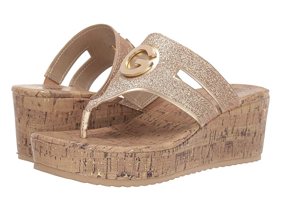 68f8ef767d7 G by GUESS Gandy (Sand Gold) Women s Shoes