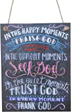 In The Happy Moments Praise God Colorful Chalk Sign By meijiafei
