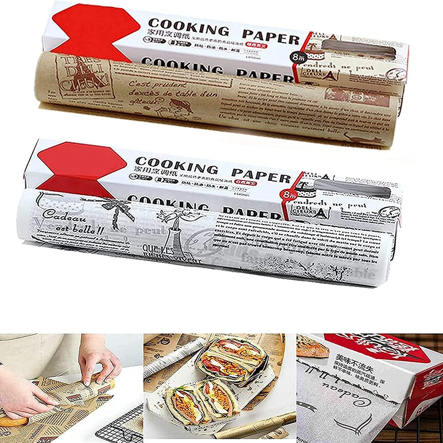 11.8 discount in × 26.2 Ft Parchment Selling rankings Paper Cooking for Baking