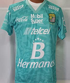 New! Liga MX Club Deportivo Leon Home Jersey 2016-2017 (L)