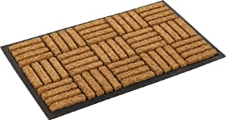 Kempf Coco Fiber in-Laid Doormat 24-inch by 39-inch