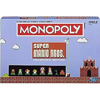 Monopoly: Super Mario Bros Collector's Edition Board Game (Amazon Exclusive),Multi-colored