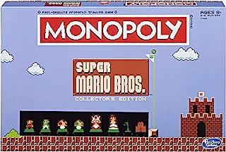 Monopoly: Super Mario Bros Collector`s Edition Board Game (Amazon Exclusive),Multi-colored