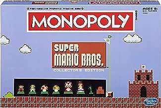 Monopoly: Super Mario Bros Collector's Edition Board Game (Amazon Exclusive)