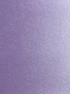 Amethyst Purple Stardream Metallic Cardstock 8.5