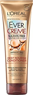 L'Oréal Paris EverCreme Sulfate Free Deep Nourish Conditoner, 8.5 fl. oz.