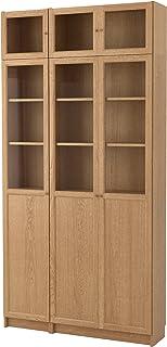 ZigZag Trading Ltd IKEA Billy/OXBERG–Estantería en Roble/Cristal 2Unidades £21