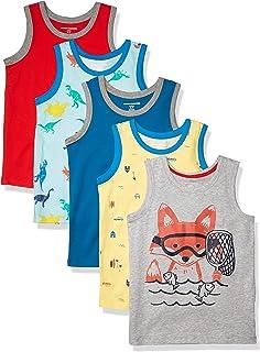 Amazon Essentials Sleeveless Tank Tops Tank-Top-and-Cami-Shirts Niños (Pack de 3)