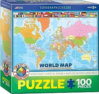 World Map 100 Piece Jigsaw Puzzle