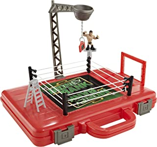 WWE Rumblers Money in the Bank Carrying Case and Playset